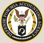 An image of The Defense P O W / M I A Accounting Agency emblem.