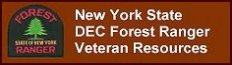 Click to open a New York State D E C Forest Ranger Recruitment Veterans services web page