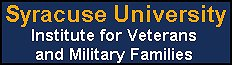 Click to open a Syracuse University Institute for Veterans and Military Families web page